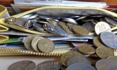 Skuptūros gamybai bus panaudoti metaliniai pinigai