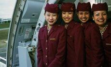 Stiuardesės, Qatar oro linijos