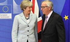 Theresa May, Jeanas-Claude'as Junckeris