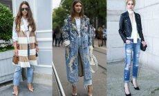 Stiliaus taisyklės, kaip prie skirtingų batelių turėtum mūvėti džinsus