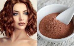 Kaip namuose nusidažyti plaukus natūraliais dažais - chna ir basma