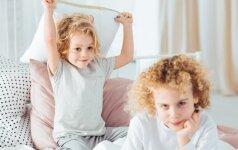 Brolių ir seserų konfliktai: ar verta dėl jų rūpintis