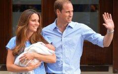 Karališkasis kūdikis ruošiasi savo pirmajai kelionei į užsienį
