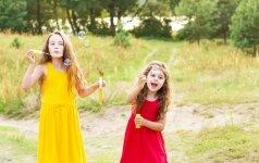 Trys smagūs žaidimai vaikams lauke