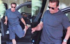 Laikas bėga... Kaip dabar atrodo Arnoldas Schwarzeneggeris