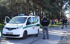 Полиция задержала подозреваемых в убийстве паневежца