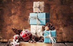 Kaip gražiai supakuoti kalėdines dovanas