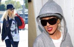 Žvaigždės be stilistų: kaip Christina Aguilera atrodo realiame gyvenime