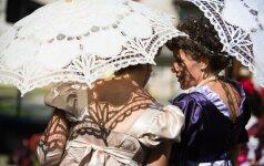 Kidulių miestelio šventėje atgimė dvaro istorija
