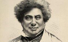 4 faktai iš prancūzų rašytojo Alexandre'o Dumas gyvenimo: palaidūnas, gurmanas ir iškairegis