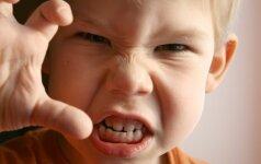 Agresyvų vaikų elgesį skatina netinkama mityba?