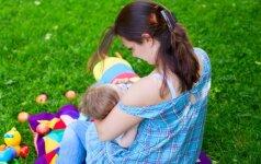 Mamos pienu žindo 6 metų vaiką ir neketina liautis