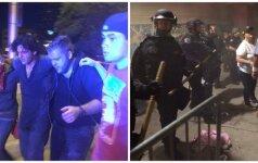 На акции в поддержку Трампа после столкновений задержали десятки человек