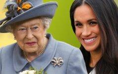 Stulbinanti karalienės dovana princo Harry sužadėtinei