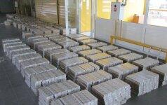Таможня за полгода конфисковала контрабандных сигарет почти на 10 млн. евро