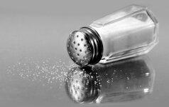 Ką nutyli druskos tiekėjai?