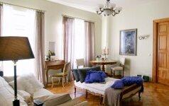 Klasikinio stiliaus namuose – ir sovietmečio palikimo, ir moderno elementų