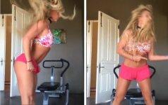 Britney Spears šokis namuose sprogdina internetą