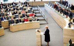 Правящие Литвы на критику президента ответили обвинениями в расколе