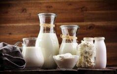 Kokius pieno produktus rinktis, o kokių vengti?