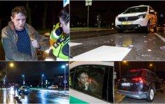 Рейд в Вильнюсе: пассажир утверждал, что пьяный таксист ехал очень ответственно