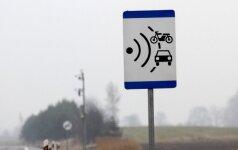 Radary odcinkowe pojawią się na litewskich drogach
