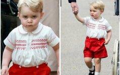 Kodėl mažasis princas rengiamas taip keistai? FOTO