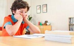 Gydytoja: tėvai rūpinasi pažymiais ir pamiršta daug svarbesnį dalyką