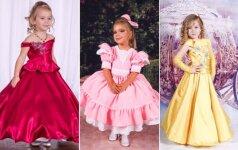 Grožio konkursai garsina lietuvės 4 metų dukterį visame pasaulyje (FOTO)