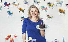Beata Nicholson – apie vaikų gimtadienius +vaflių receptas