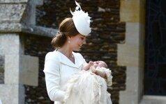 Po krikštynų - kritikos lavina Kate Middleton adresu