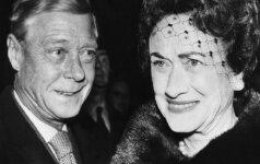 Wallis Simpson – seksuali plėšrūnė, dėl kurios karalius atsisakė sosto