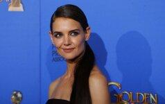 Slapukė: Katie Holmes nebeslepia romantiškų jausmų savo kolegai