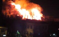 Большинство жертв пожара на складе в Москве - киргизские девушки