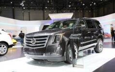 Приобретение Карбаускиса — американский джип Cadillac