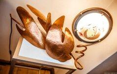"""Galerijoje """"Arka"""" – skulptūros, juvelyrikos ir meninio stiklo paroda """"Šviesos brangakmeniai"""""""