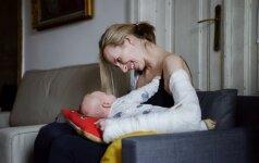 Socialinis projektas atskleidžia nepagražintą ir neretušuotą motinystę Lietuvoje