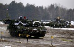 Бундесвер отправляет танки в Литву