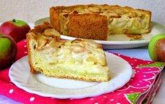 Netradicinis ir labai skanus obuolių pyragas