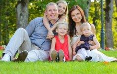 Trijų dukryčių mama Asta: labai norėjosi jas aprengti savo mezginiais