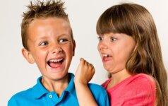 Vos gimę berniukai ir mergaitės elgiasi kitaip: 5 akivaizdūs skirtumai