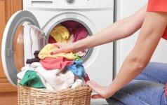 Kaip skalbiant jums padės actas