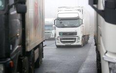 На белорусско-литовской границе скопилось 600 грузовиков