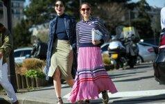 10 tobulų drabužių derinių šiltam ir pavasariškam savaitgaliui