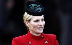 Tuoj gimdysianti princesė Zara nesiskiria su žirgais FOTO