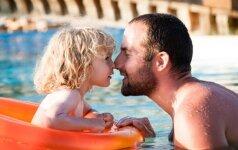Psichologės - išsamiai ir suprantamai, kodėl vaikui reikalingas tėtis