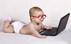 Kaip pavadinti naujagimę, balsuoja interneto lankytojai