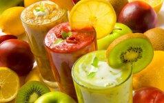 6 sveikų gėrimų receptai būsimoms mamoms