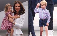 FOTO: paaugę karališkieji mažyliai – vėl dėmesio centre