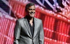 George'as Clooney savo žmonai Amal siūlo originaliai pavadinti būsimus vaikus